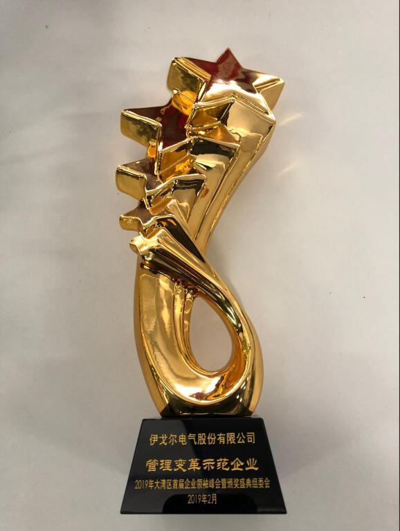 """Eaglerise won Greater Bay Area """"management reform demonstration enterprise"""" title"""